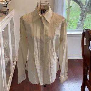 Lauren Ralph Lauren size 4 light ivory shirt